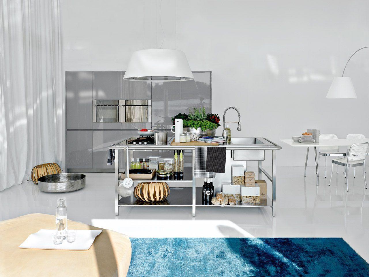 Cores De Cozinha Moderna De A O Inoxid Vel Fotos E Imagens