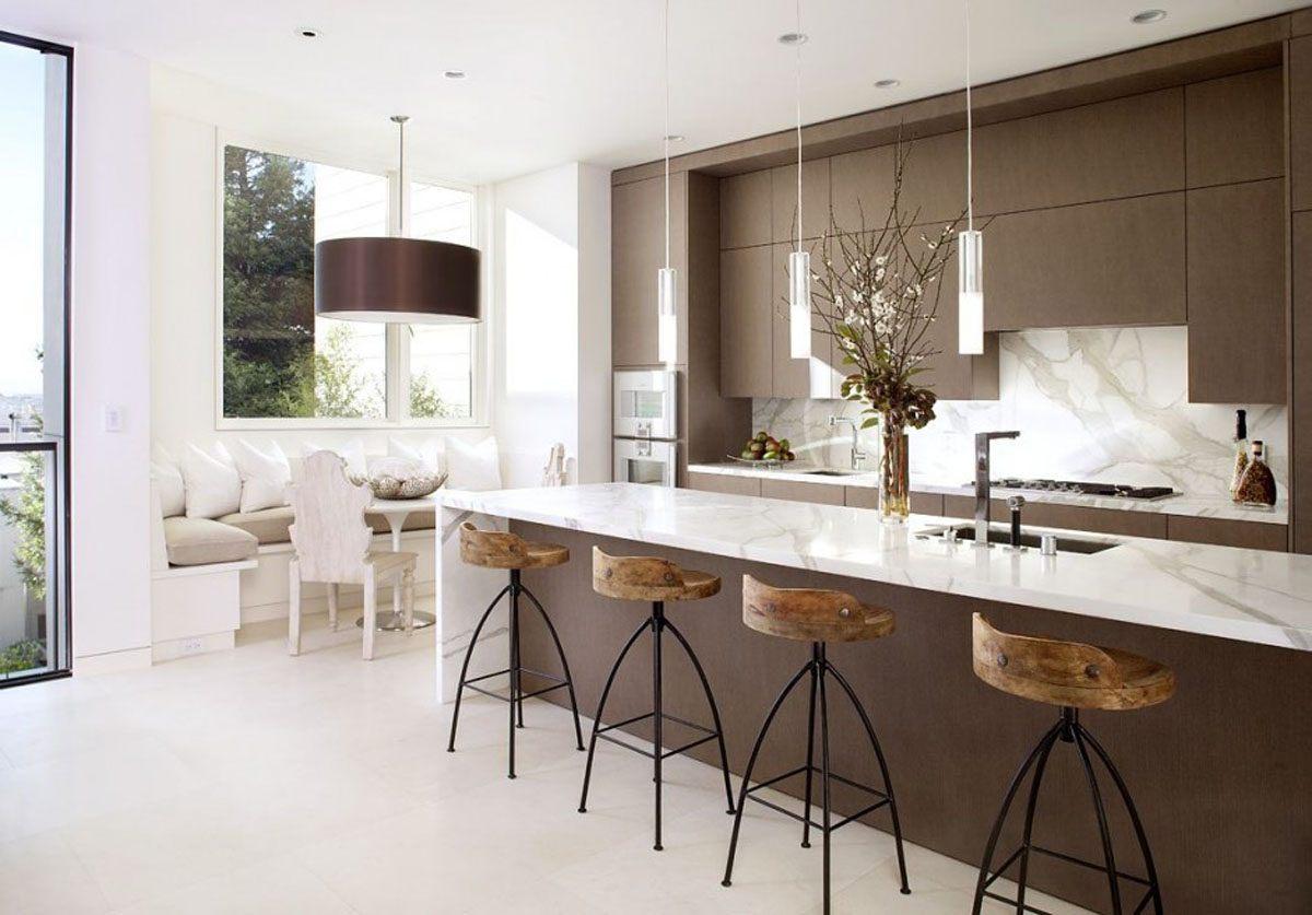 Ilumina O De Uma Cozinha Moderna Fotos E Imagens