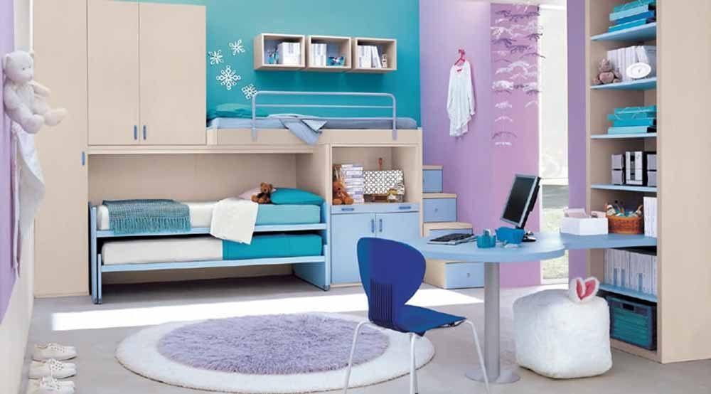 Quartos juvenis modernos - Teenage girl bedroom inspiration ...