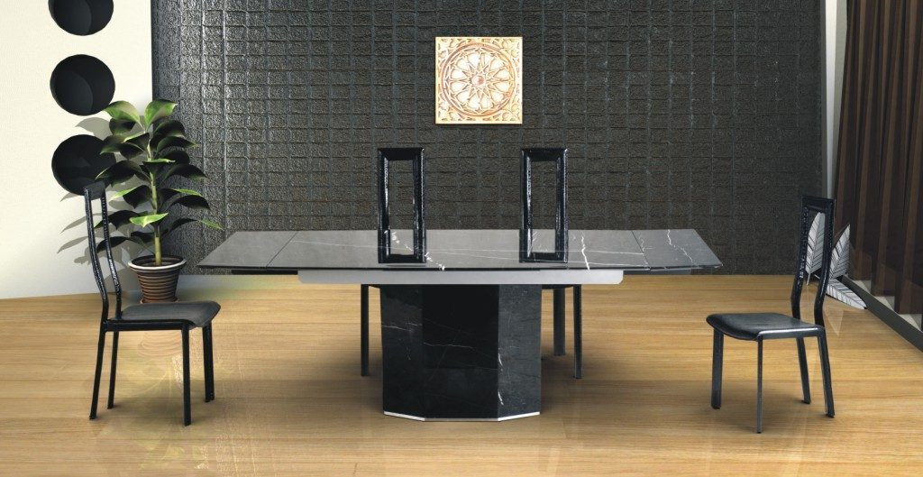 Sala De Jantar Feng Shui ~ Sala de jantar moderna de toques Feng Shui  Fotos e imagens
