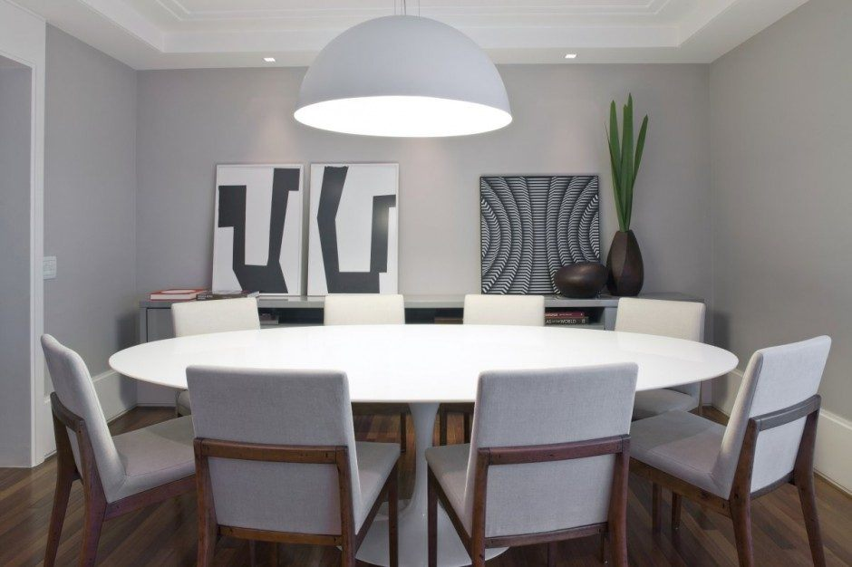 Salas de jantar modernas for Contemporary dining room design photos